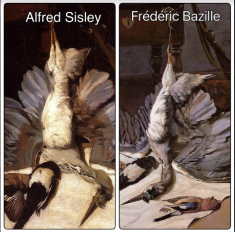 Sisley and Bazille
